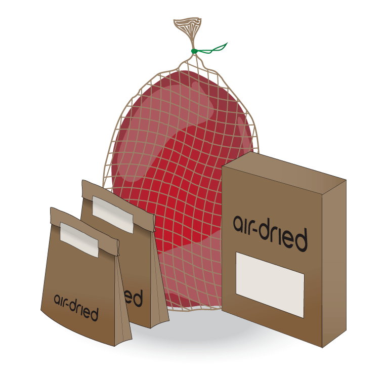Rawtodoor-Air-dried-Product-Graphics
